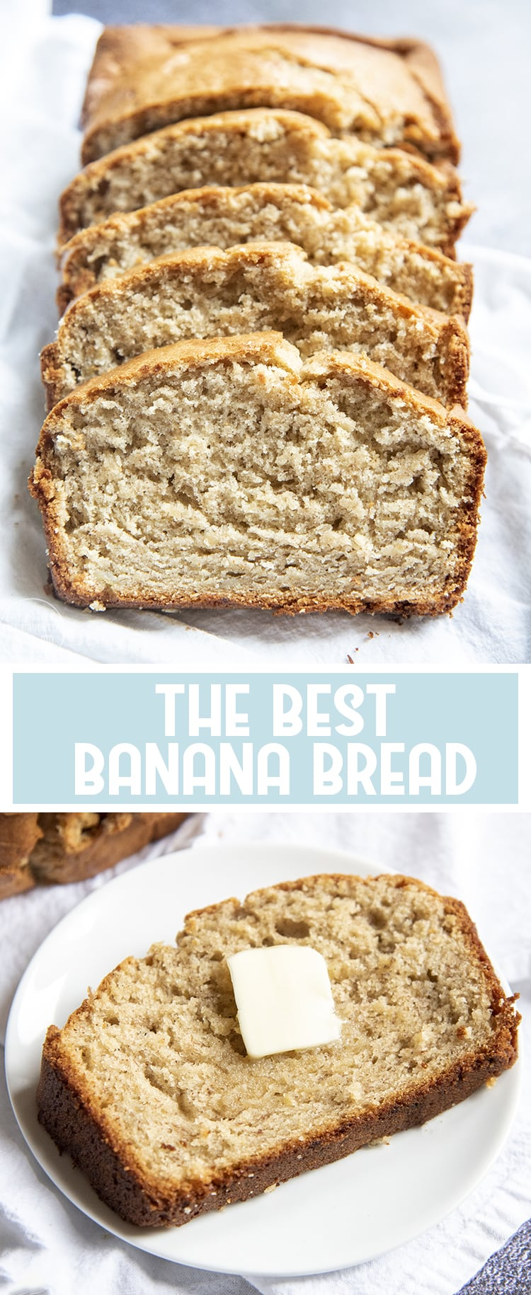 This is the best banana bread! It's moist and delicious, and can all be made in one bowl!