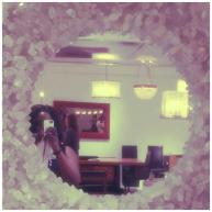 Beautiful Mirror with me in the way!