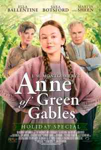 Poster for L.M. Montgomery's Anne of Green Gables, produced by Breakthrough Entertainment