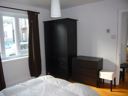 Chambre principale - lit double