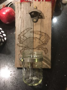 crab wall bottle opener