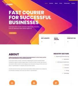 LMN Tech Courier Website