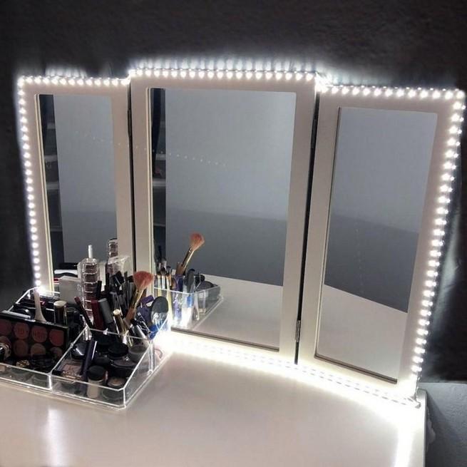 vanity mirror with lights for bedroom 01  lmolnar