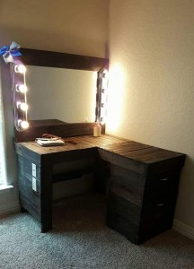 Vanity mirror with lights for bedroom 63