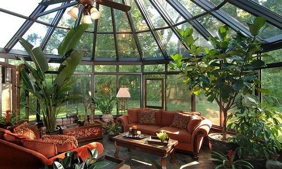 11 Enchanting Sun Room Design Ideas For Relaxing Room In The Morning 31