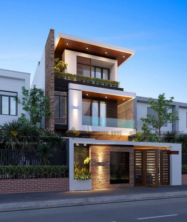 12 Minimalist Home Exterior Architecture Design Ideas 34
