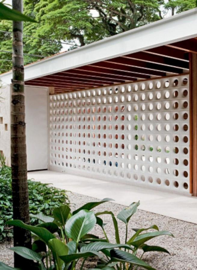 13 Awesome Breeze Block Wall Backyard Inspiration Ideas 13