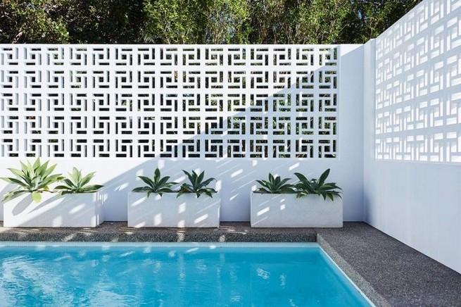 13 Awesome Breeze Block Wall Backyard Inspiration Ideas 29