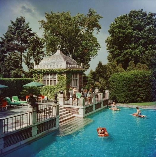 13+ Casual Cabana Swimming Pool Design Ideas - lmolnar on Small Pool Cabana Ideas id=19498