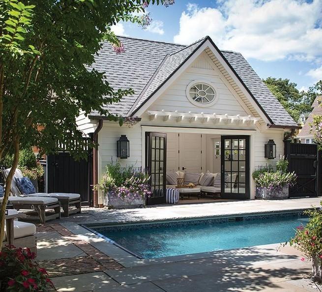 13 Casual Cabana Swimming Pool Design Ideas 49
