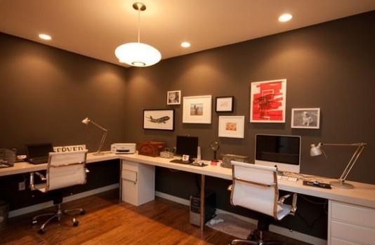 13 Elegant Dark Table Designs Ideas For Home Office 31