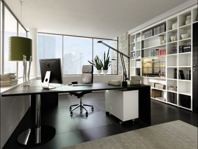 13 Elegant Dark Table Designs Ideas For Home Office 35