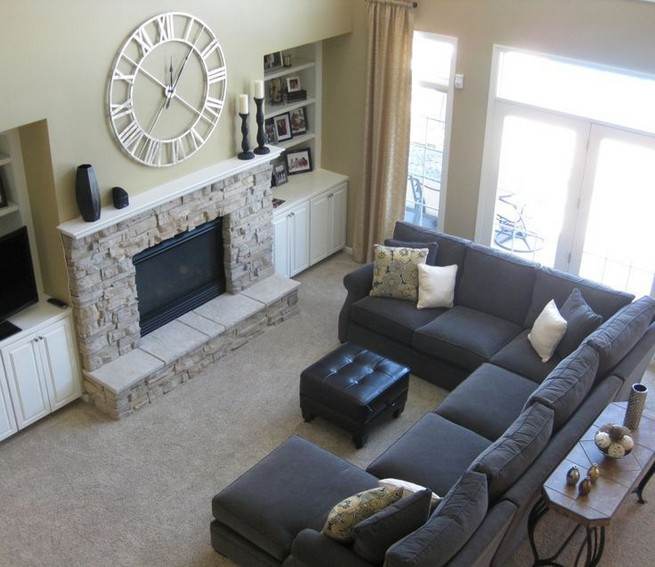 14 Attractive Small Living Room Décor Ideas With Sectional Sofa 16