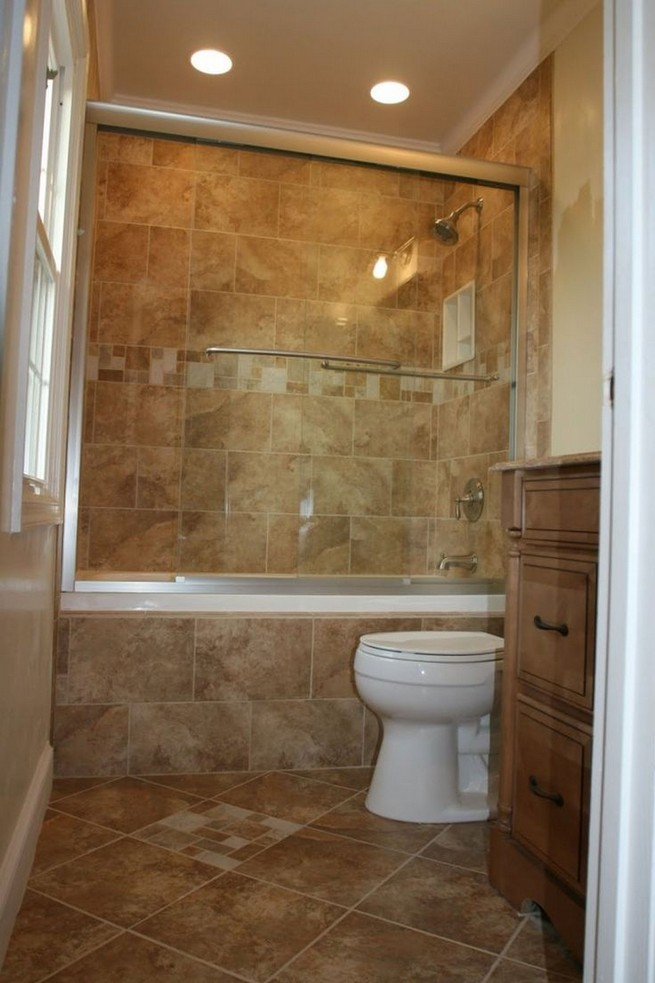 14 Delightful Bathroom Tub Shower Combo Remodeling Ideas 25