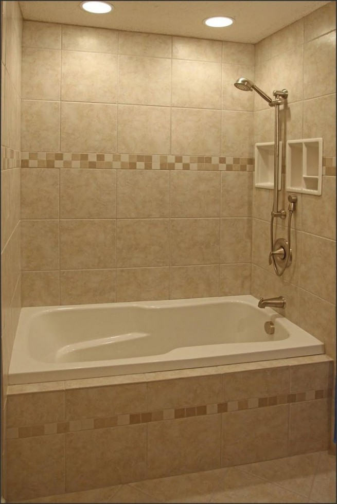14 Delightful Bathroom Tub Shower Combo Remodeling Ideas 46