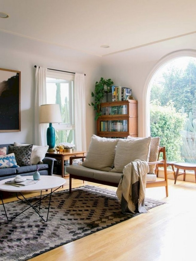14 Incredible Colorful Bohemian Living Room Ideas For Inspiration 12