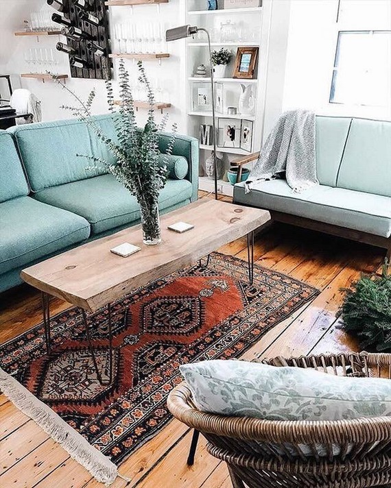 14 Incredible Colorful Bohemian Living Room Ideas For Inspiration 43