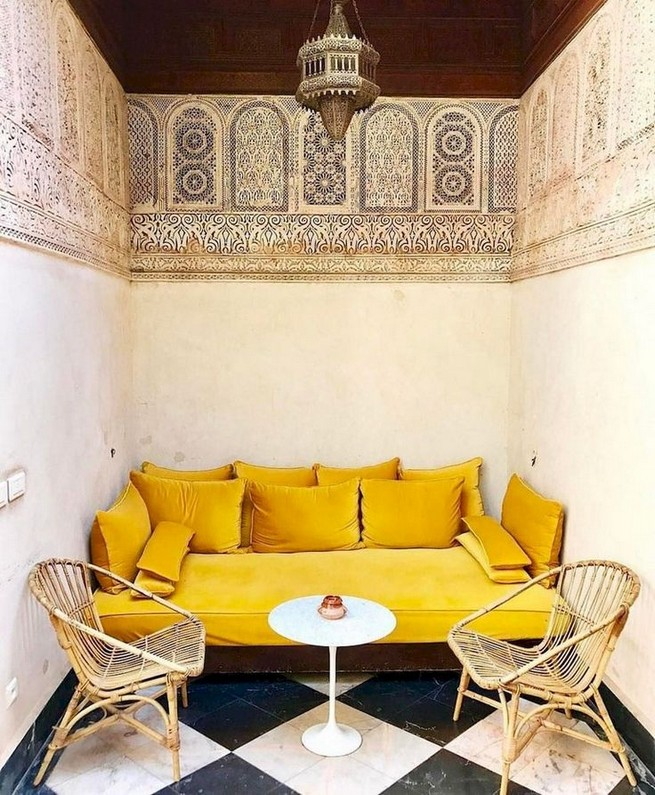 14 Incredible Colorful Bohemian Living Room Ideas For Inspiration 55