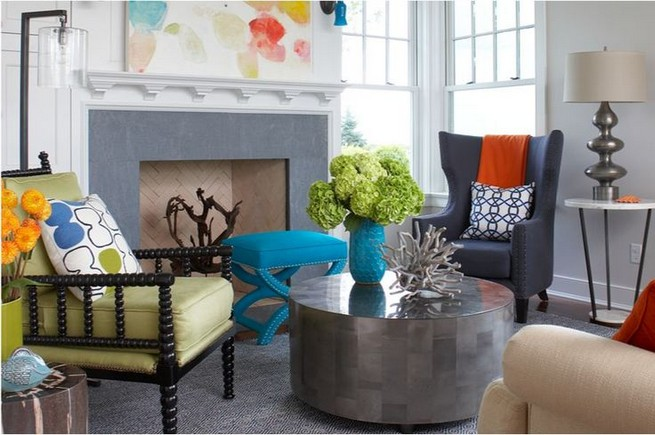 14 Incredible Colorful Bohemian Living Room Ideas For Inspiration 57