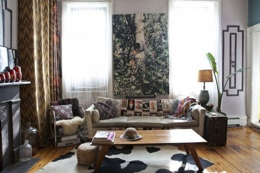 14 Incredible Colorful Bohemian Living Room Ideas For Inspiration 64