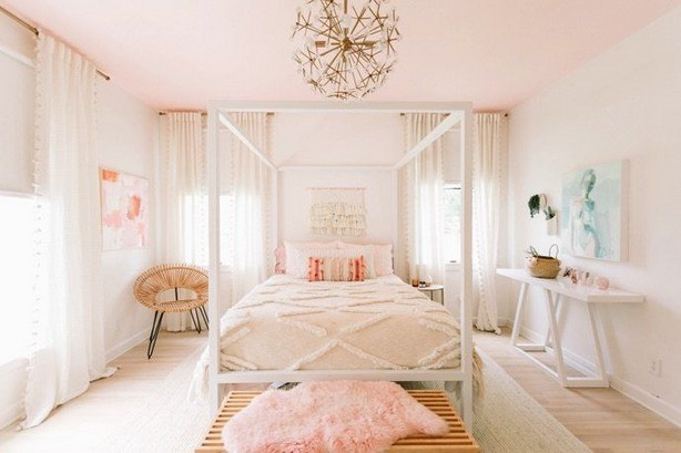 15 Charming Pink Kids Bedroom Design Decorating Ideas 06