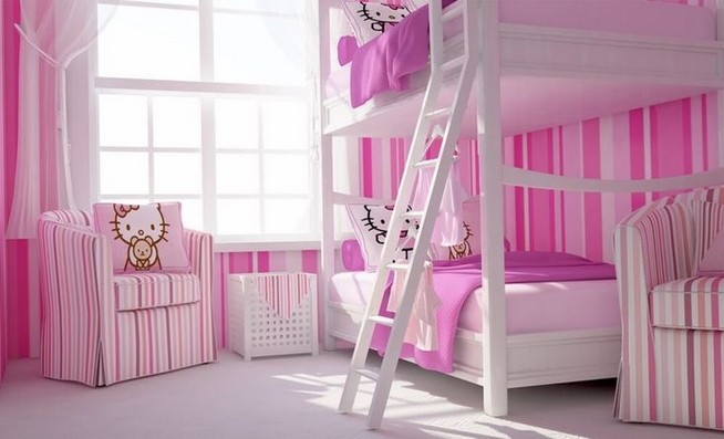15 Charming Pink Kids Bedroom Design Decorating Ideas 14