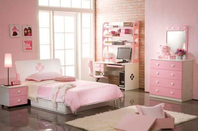 15 Charming Pink Kids Bedroom Design Decorating Ideas 36