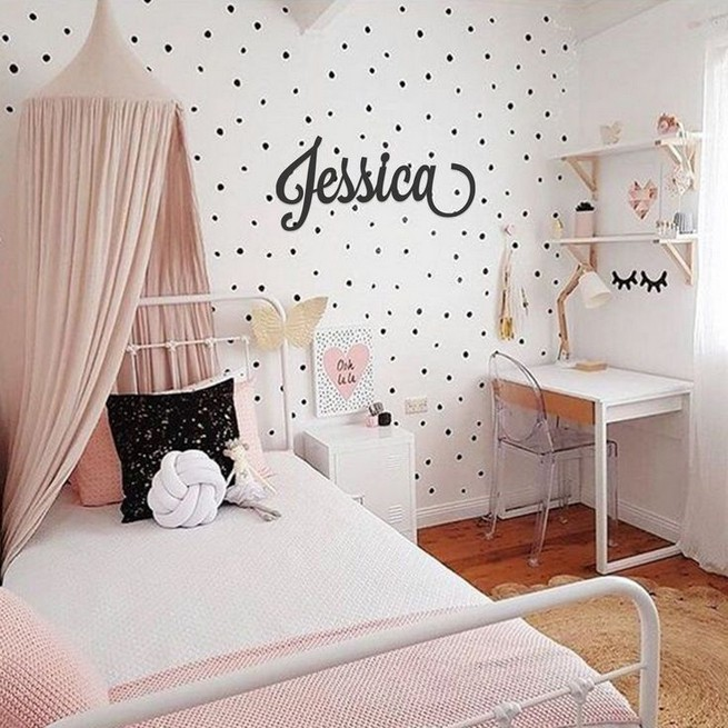 15 Charming Pink Kids Bedroom Design Decorating Ideas 40