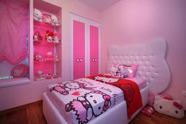15 Charming Pink Kids Bedroom Design Decorating Ideas 46