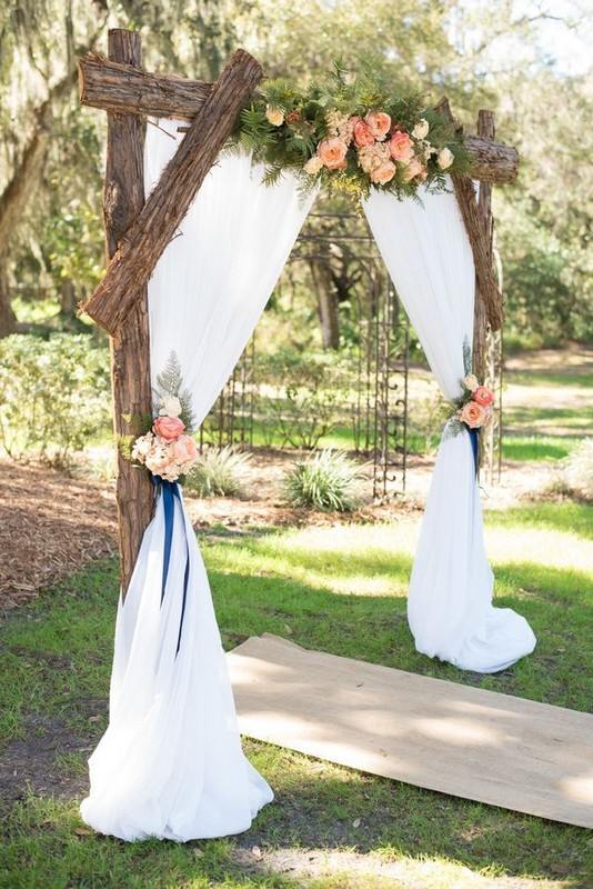 15 Rustic Backyard Outdoor Wedding Ideas 70
