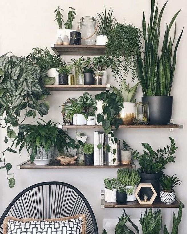 16 Elegant Living Room Shelves Decorations Ideas 07