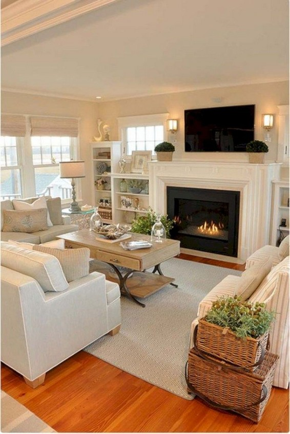 17 Attractive Modern Family Room Designs Ideas 23