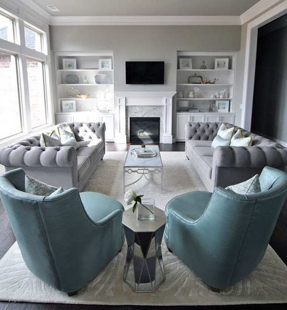 17 Attractive Modern Family Room Designs Ideas 37