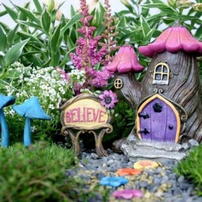17 Beautiful Fairy Garden Plants Ideas For Around Your Side Home 12