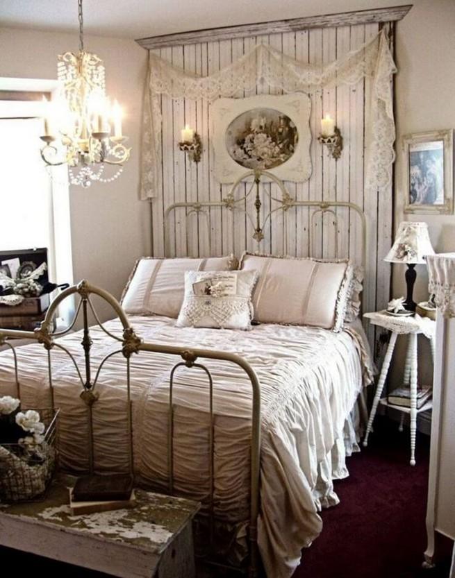 18 Shabby Chic Bedroom Design Ideas 23