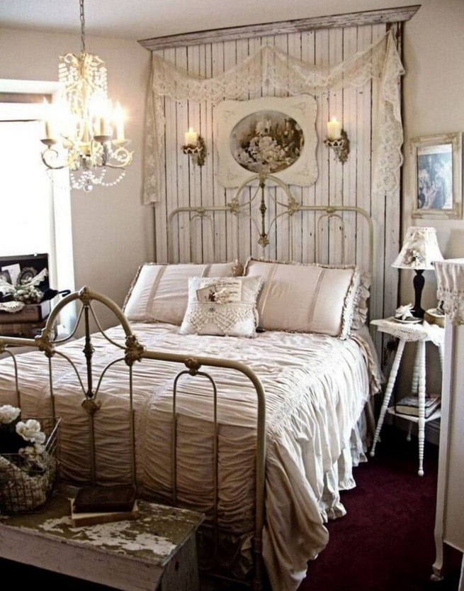 18 Shabby Chic Bedroom Design Ideas 23