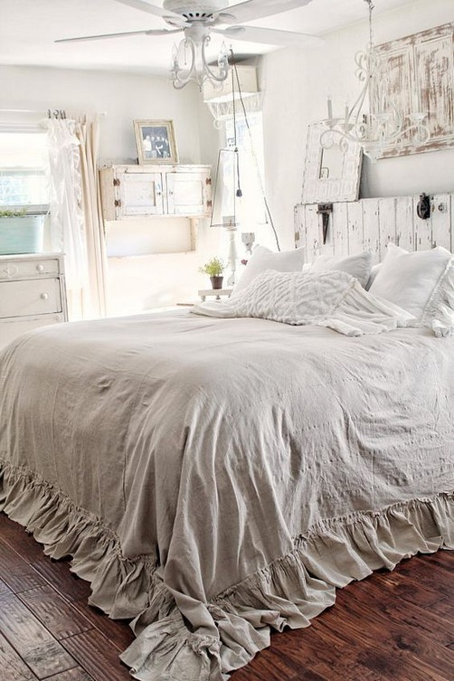 18 Shabby Chic Bedroom Design Ideas 26