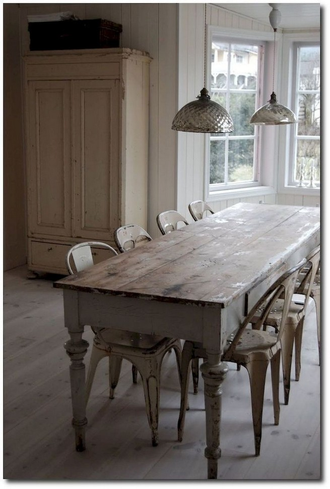 10 Astonishing Extra Large Rectangular Dining Tables Ideas 11