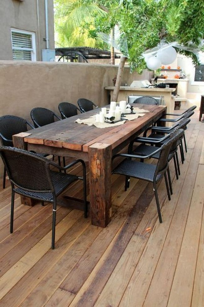 10 Astonishing Extra Large Rectangular Dining Tables Ideas 18