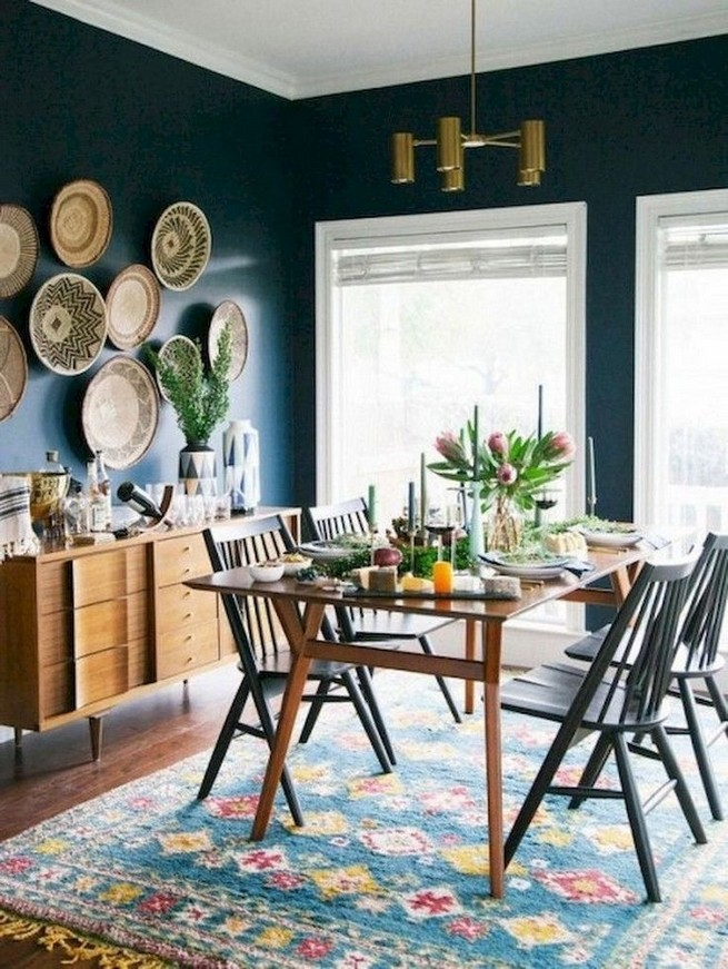 12 Creative Rustic Dining Room Design Ideas 10