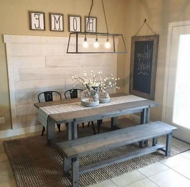 12 Creative Rustic Dining Room Design Ideas 24