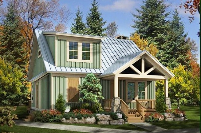 12 Wonderful Cottage House Exterior Ideas 23