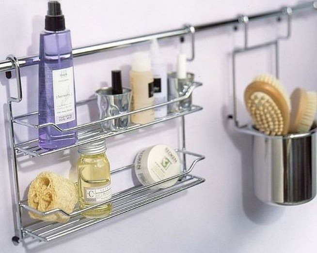 13 Creative Diy Wall Hanging Storage Ideas For Bathroom 04