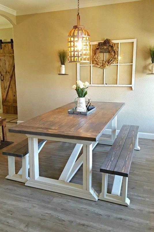 13 Creative Farmhouse Kitchen Decor Ideas 36