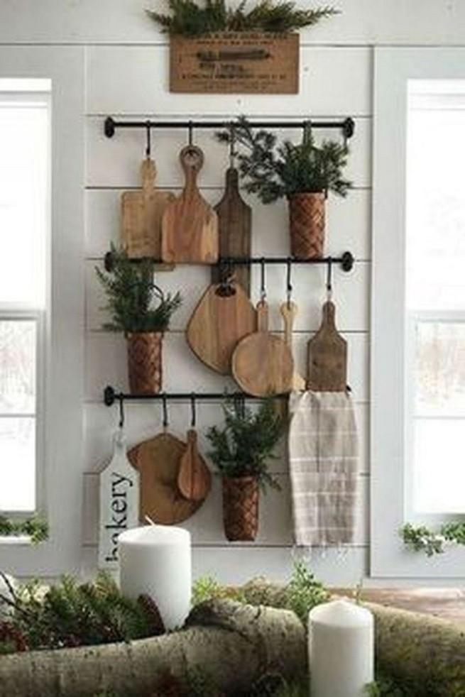 13 Creative Farmhouse Kitchen Decor Ideas 40