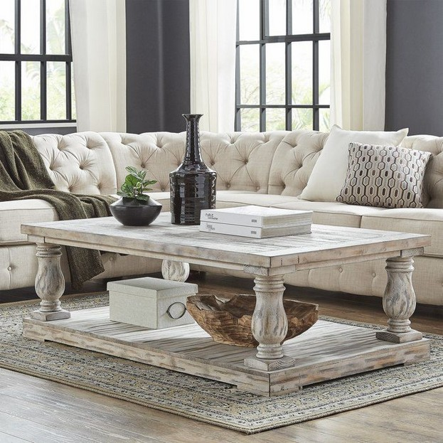 13 Perfect Rectangular Glass Coffee Tables Ideas 03