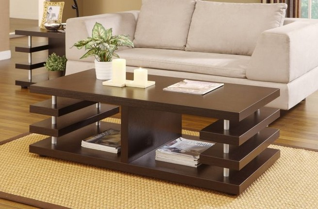 13 Perfect Rectangular Glass Coffee Tables Ideas 14