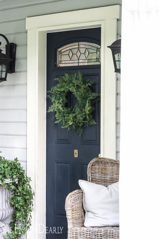 14 Creative Front Doors Decor Ideas 30