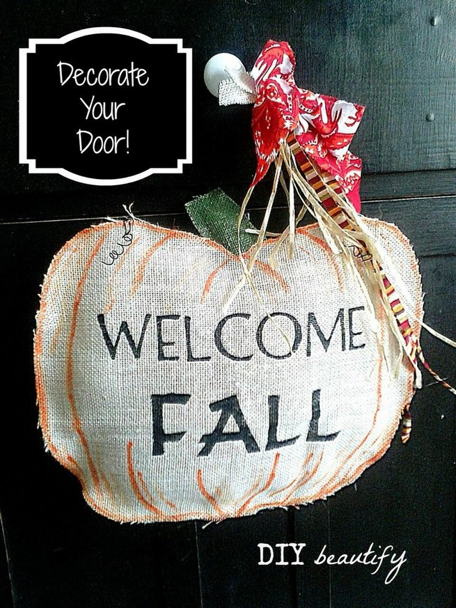 14 Fantastic Diy Pumpkin Decorations Ideas To Beautify Your Home Decor 41