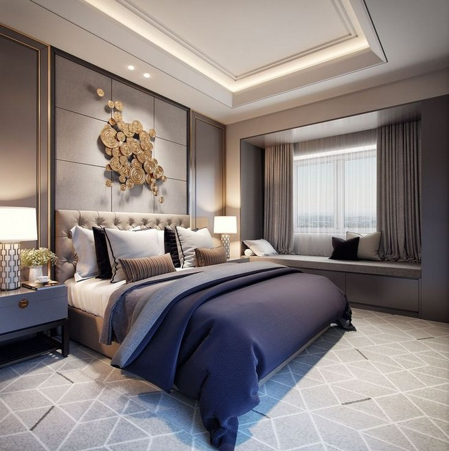 14 Modern Luxury Bedroom Inspirations 32